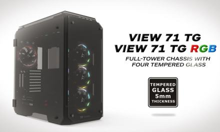 Thermaltake View 71 Tempered Glass Full Tower Chassis Review