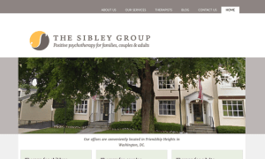 Sibley Group web design