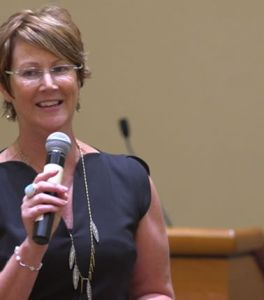 Heather Cox at Power Conference