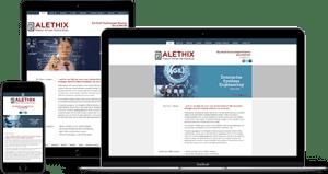 Alethix mockup