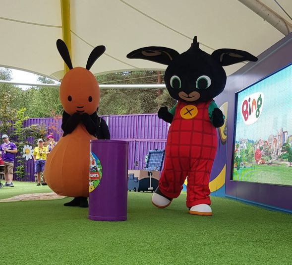 Bing and Flop Cbeebies land