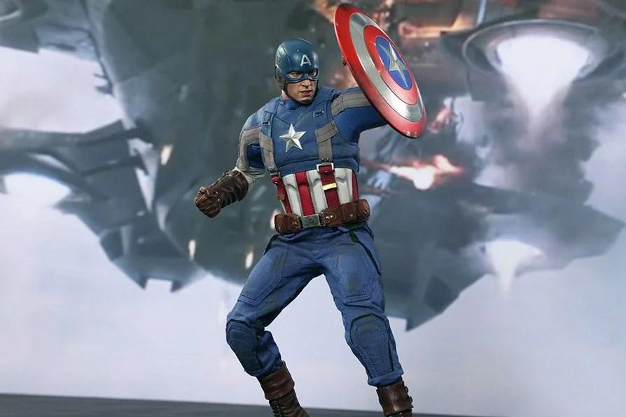 White And Black Shield America Captain