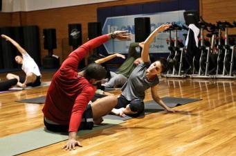 CBD body rejuvenating rub relief at the gym