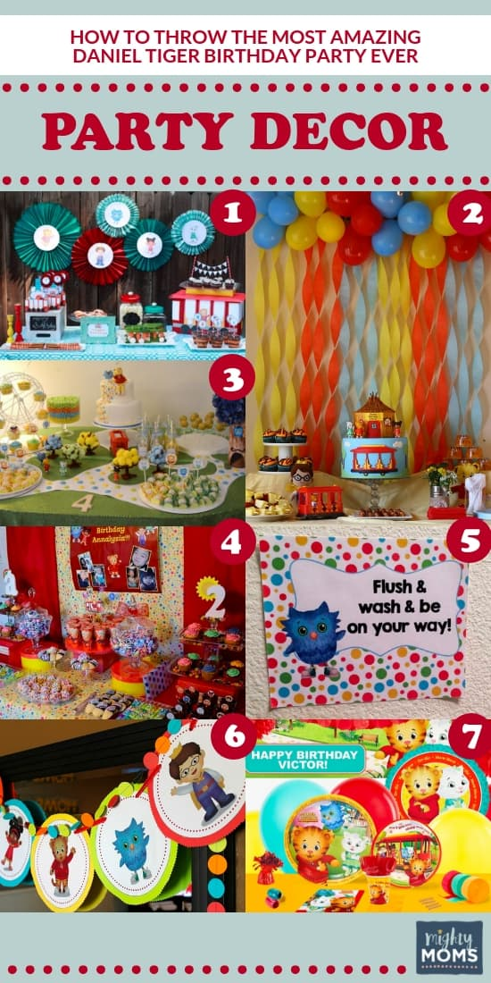 The Ultimate Daniel Tiger Neighborhood 5th Birthday Party Supplies And Balloon Decorations Toys Games Balloons