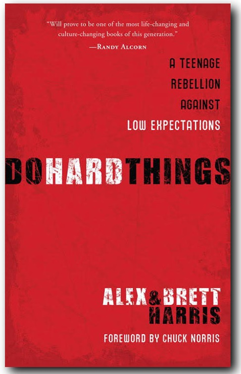 A Review of Do Hard Things by Alex and Brett Harris