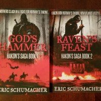 Book Haul: God's Hammer and Raven's Feast By Eric Schumacher