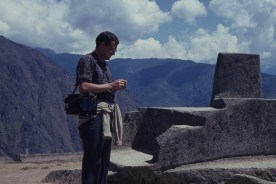 Checking the Time against Mapi's Sundial