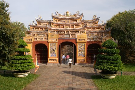 Gate to To Mieu Complex