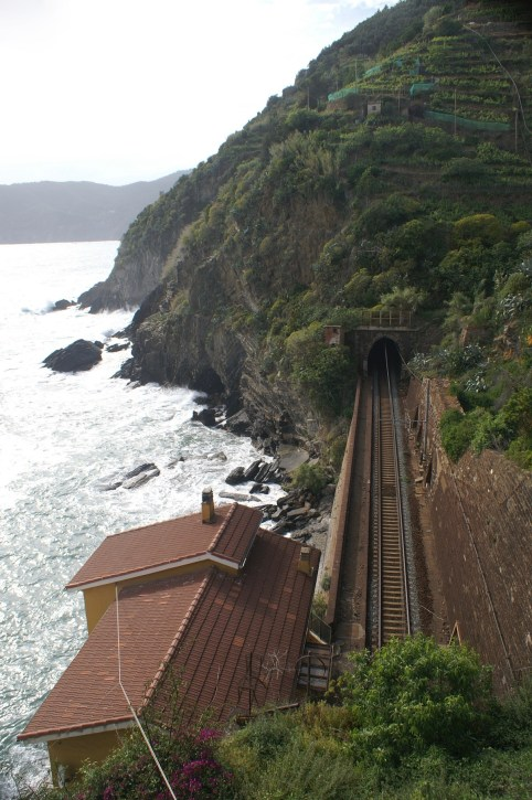 Train Tunnel N of Vernazza