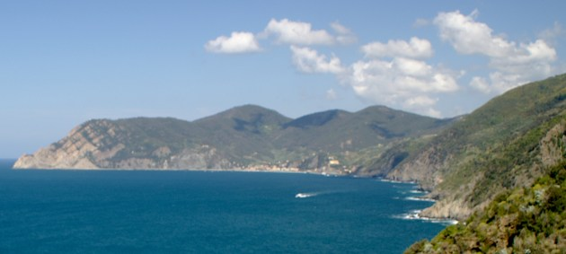 View of Monterosso from Corniglia Lookout