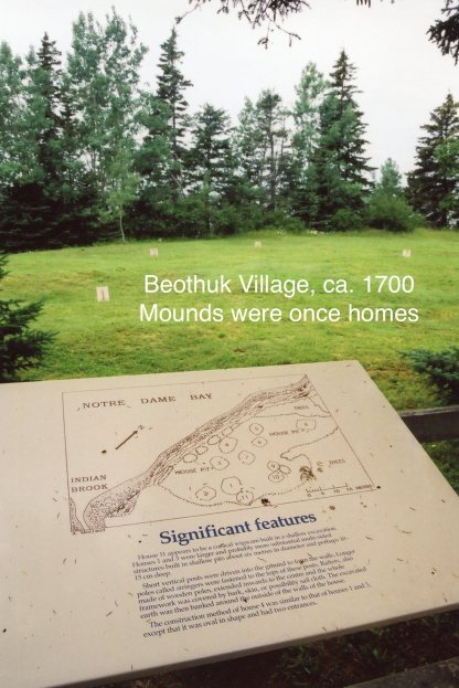 Beóthuk Village Map