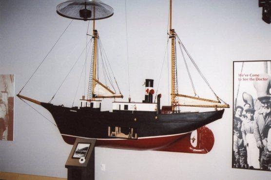 Grenfell's Hospital Ship - Model