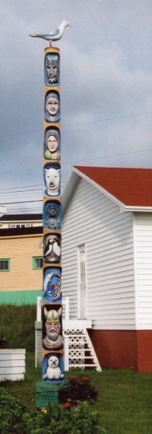 John Pilgrim's Totem Pole