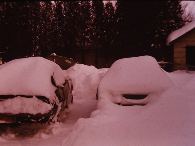 This could be from the 1978 Blizzard in Michigan, but I'm not positive.