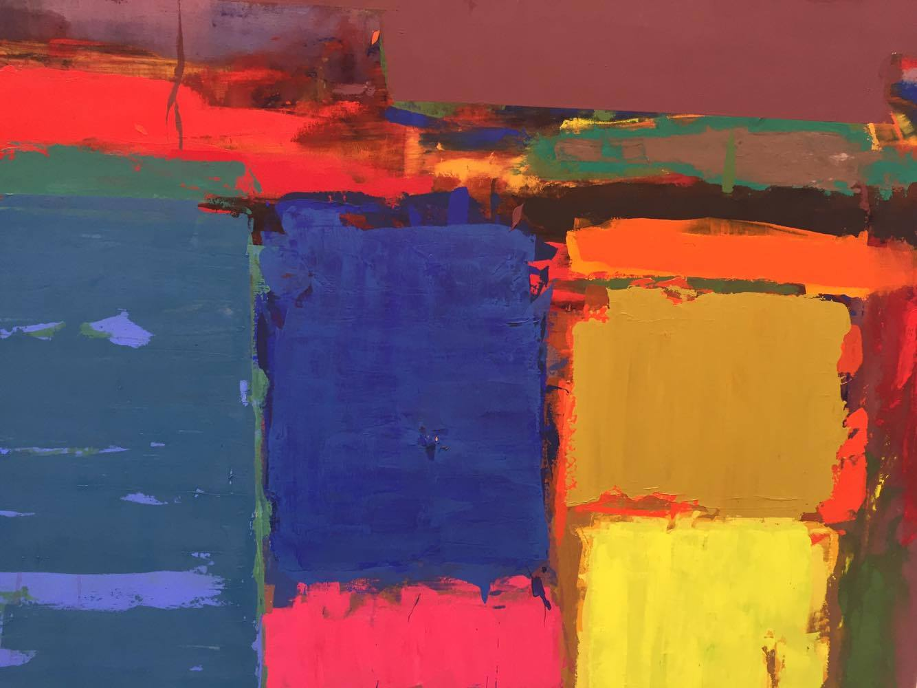 John Hoyland Power Stations Paintings 1964 1982 MIGLE SAVEIKYTE