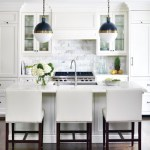 Kitchen Inspiration: White Carrarra Marble Kitchen