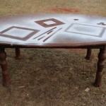 Makeover Monday: A Table Sawed in Two