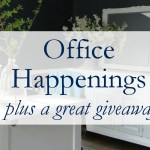 Office Happenings + Giveaway