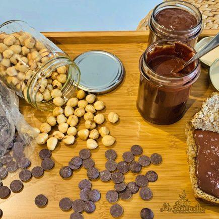 Bodegón Nutella casera