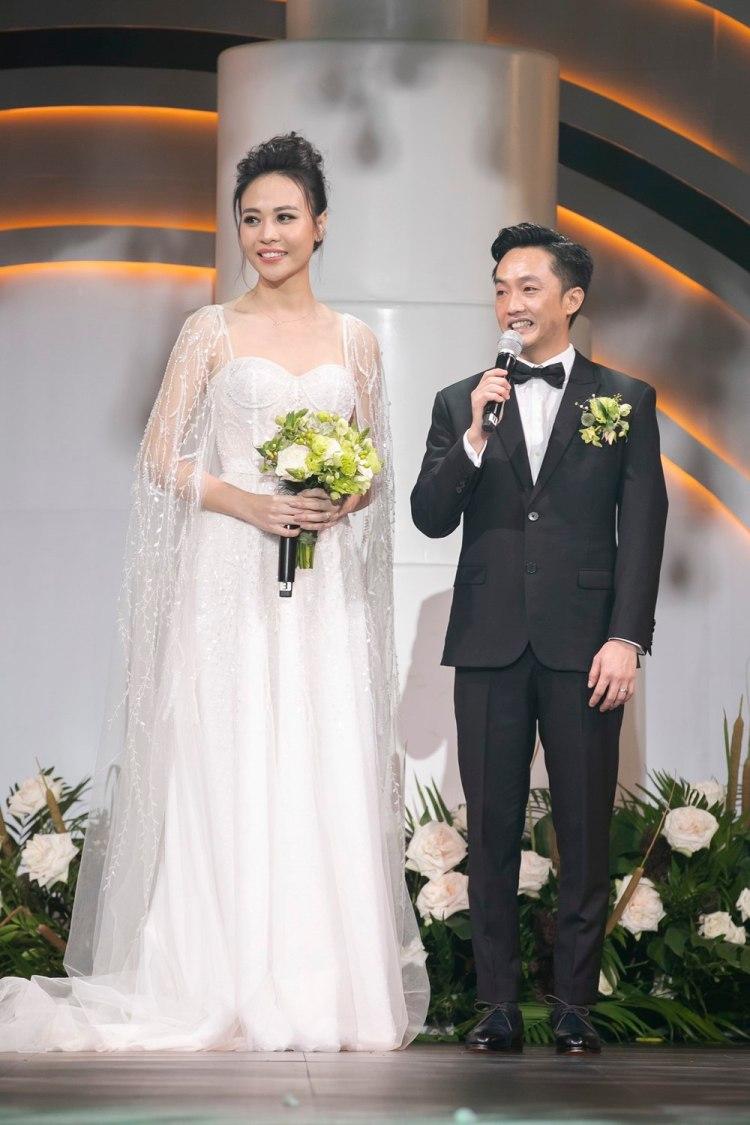 Đám cưới Cường Đô la và Đàm Thu Trang