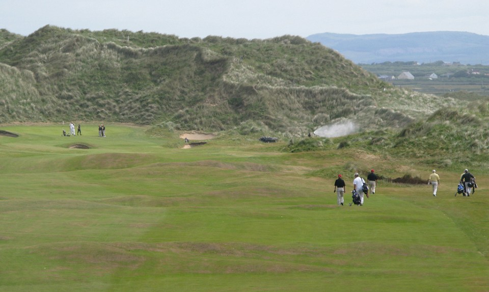 Doonbeg Golf Links Opening hole