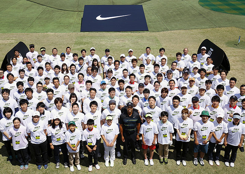 """My trip to Japan was a lot of fun. It was a perfect ending to an amazing trip,"" said Woods after having met the group of young golfers."