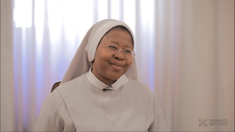 Sister Monica speaks on Human Trafficking