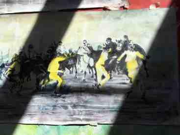 INez werk paarden