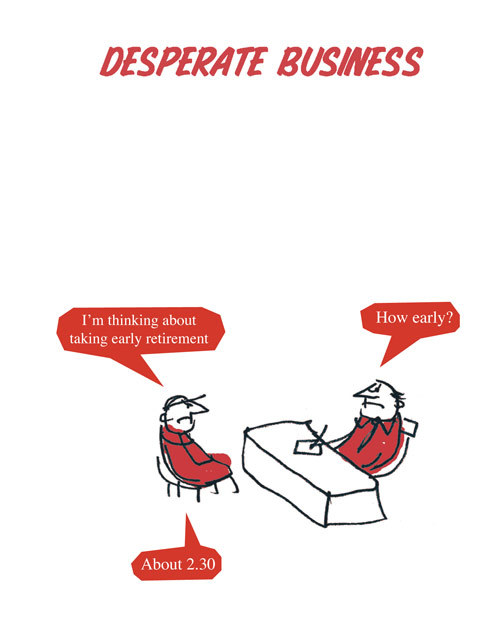 The Book Desperate Business By Modern Toss