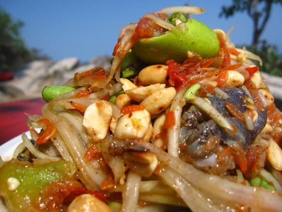Som Tam boo 100 Thai Dishes to Eat in Bangkok: The Ultimate Eating Guide