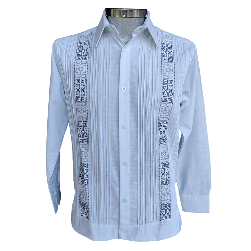 Guayabera camisa bordada