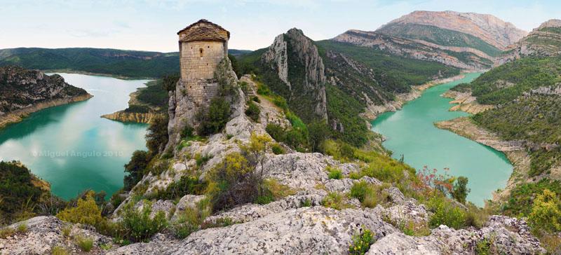 La Pertuza, Embalse de Canelles (Catalunya-España)