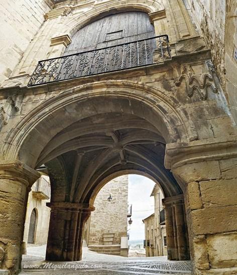 Calaceite (Porte-chapelle)