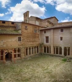 Cloitre du Monastère de Casbas de Huesca (XIIe)