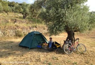 Bivouac près de Horta de Sant Joan