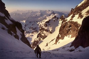 Pic du Midi d'Ossau, Grande Raillère, 1990