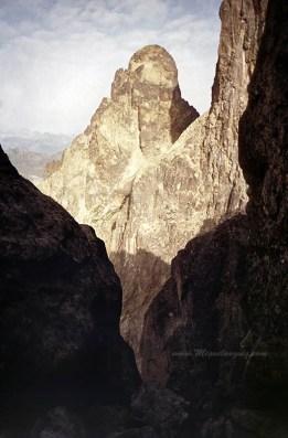 Petit Pic du Midi d'Ossau, depuis la Pointe d'Aragon, 1993