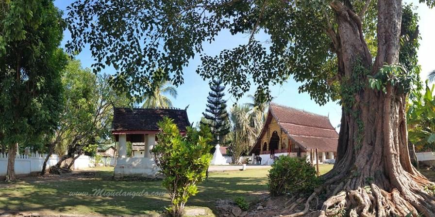 Jardin du temple de Pak Ou