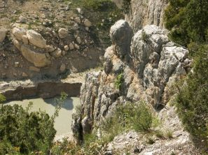Via Ferrata de la Pertusa (semble abandonnée en 2009)