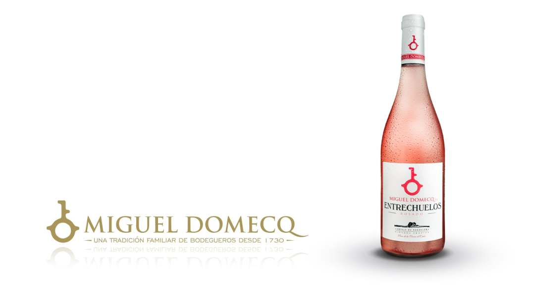 Vino rosado de la Tierra de Cádiz elaborado en el marco de Jerez Entrechuelos Rosado 2