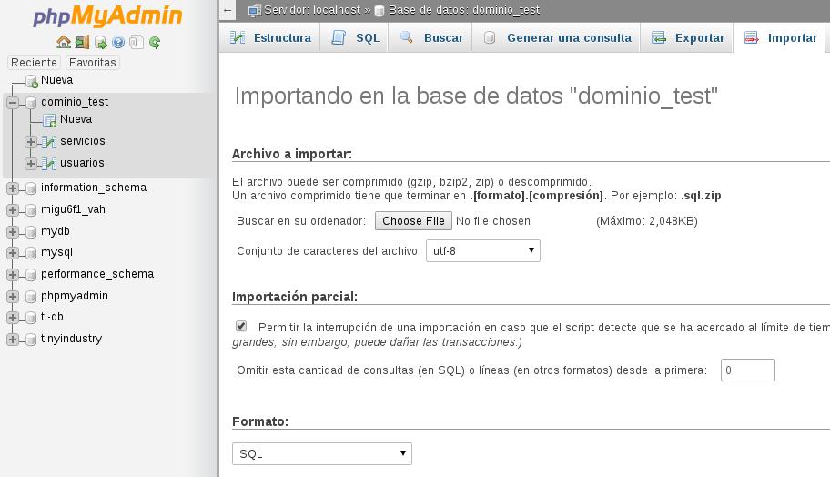 import_database_phpmyadmin