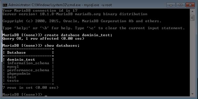 mysql_create_database