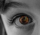 ojos de niña