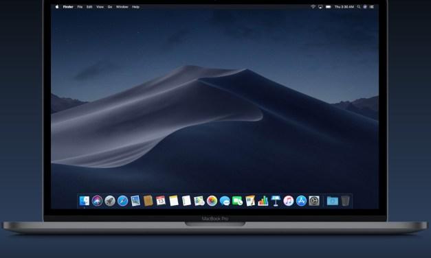 Tienes un Mac? actualiza a MOJAVE