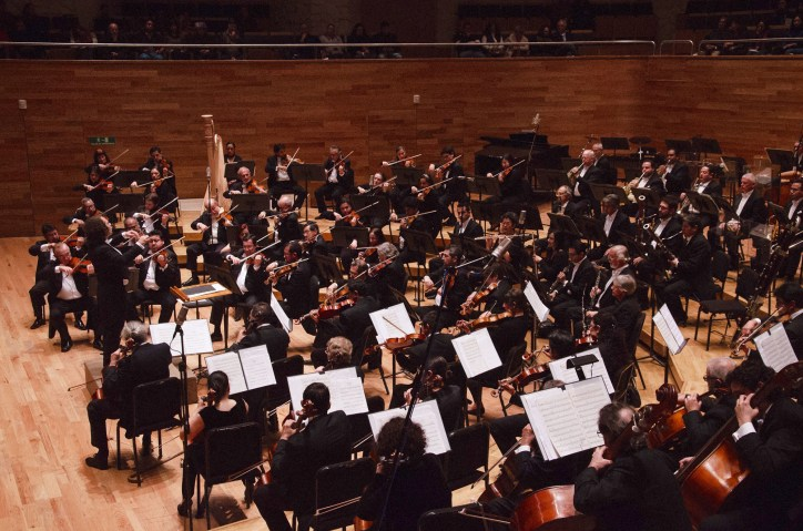2016, Xalapa Symphony Orchestra. Sala Tlaqna. Xalapa, Veracruz, Mexico. Photo, Luis Fernando Soni