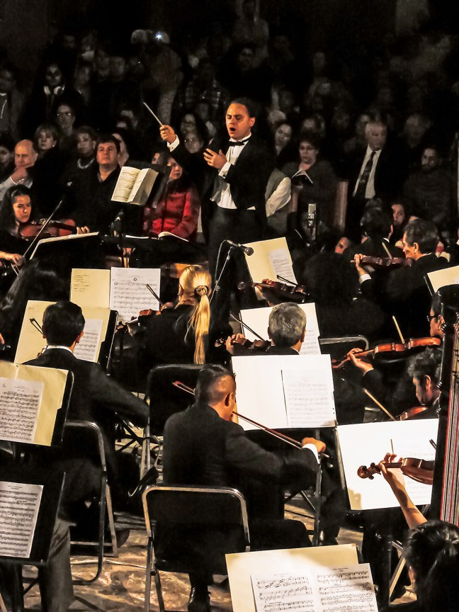 2014, A German Requiem Brahms. Michoacan Symphony Orchestra