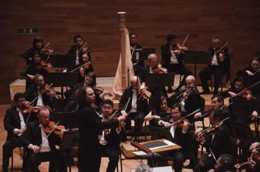 2016, Xalapa Symphony Orchestra. On Moncayo's Tierra de Temporal. Sala Tlaqna. Xalapa, Veracruz, Mexico. Photo, Luis Fernando Soni