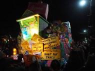 Mardi Gras 2016. Krewe of Hermes, D'Etat and Morpheous. New Orleans, LA.