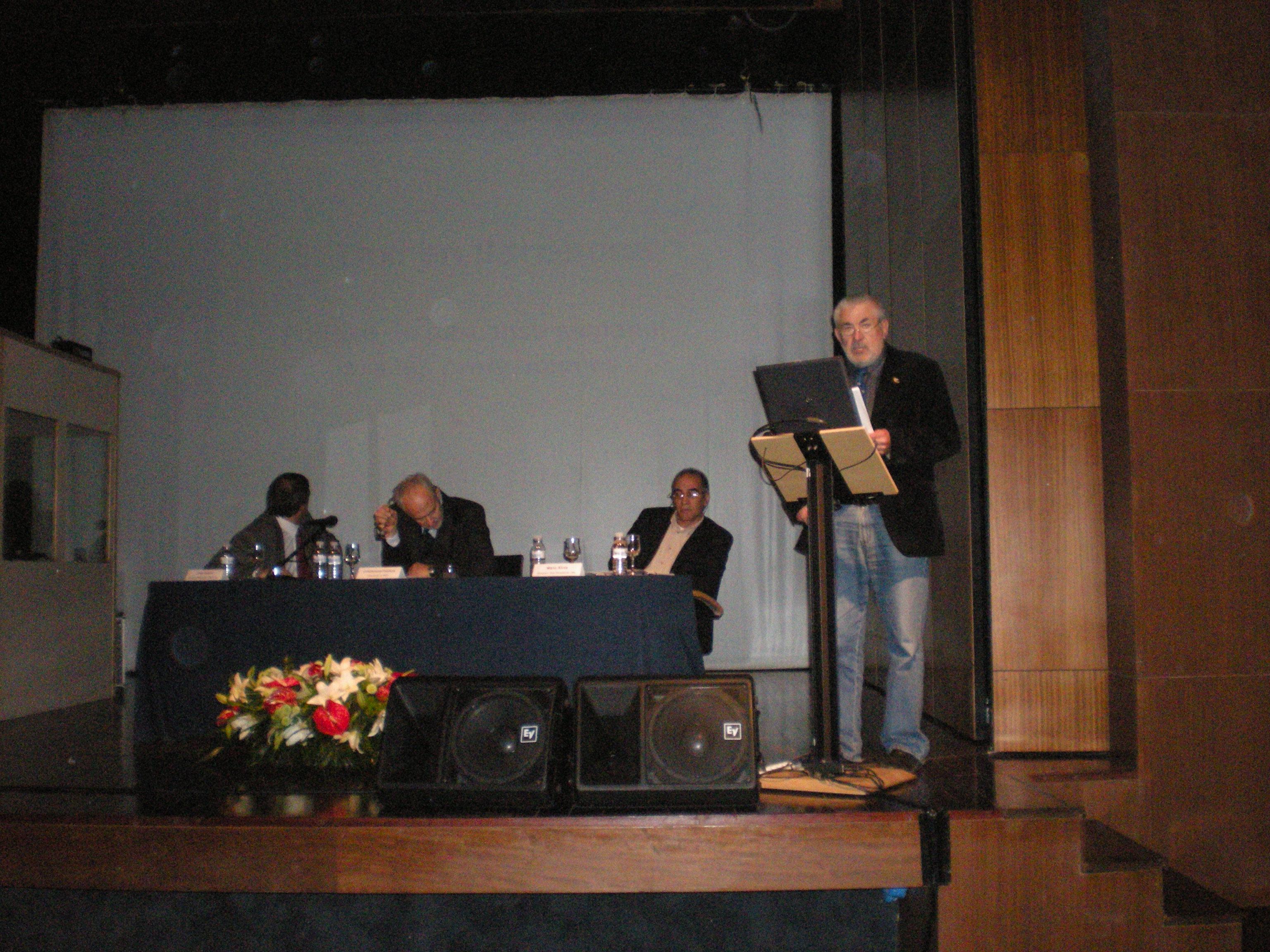Miguel Tomás en su intervención