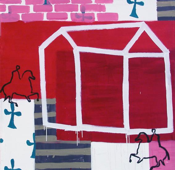 La casa de asterión III. 150 x 150. a 2001